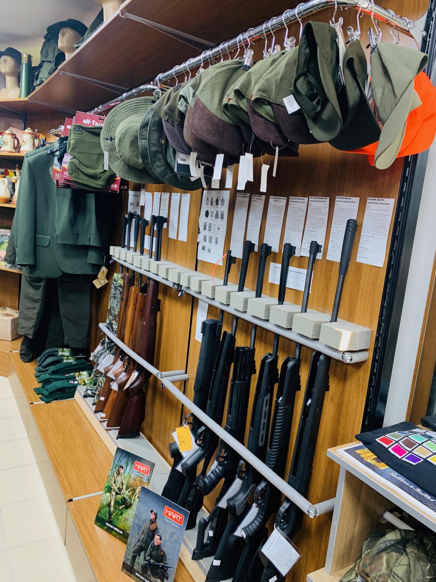 zbrane strelivo noze topoľčany