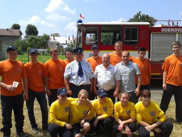 dobrovoľný hasiči tesáre