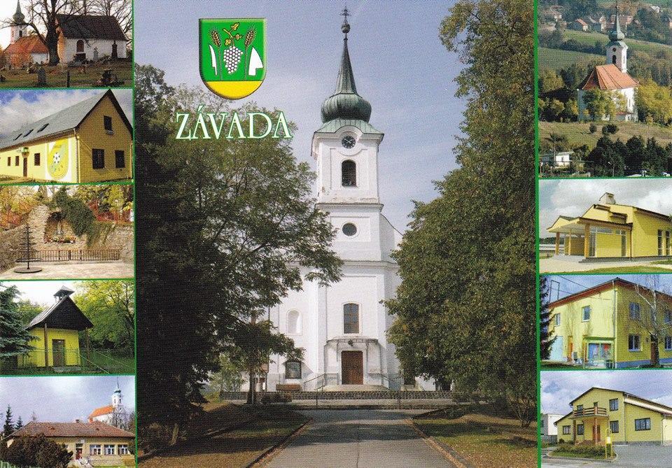 Kostol obec Závada