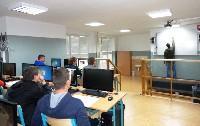 Odborná počútačová učebňa SOŠ techniky a služieb Topoľčany