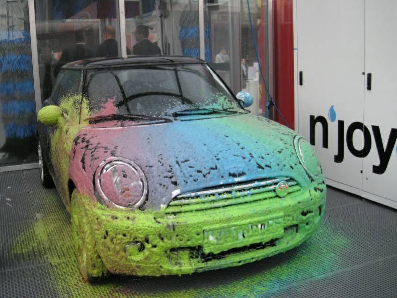 penova autoumyvaren color car wash topolcany