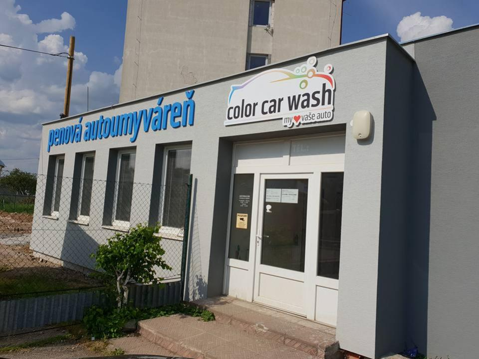 color car wash topolcany