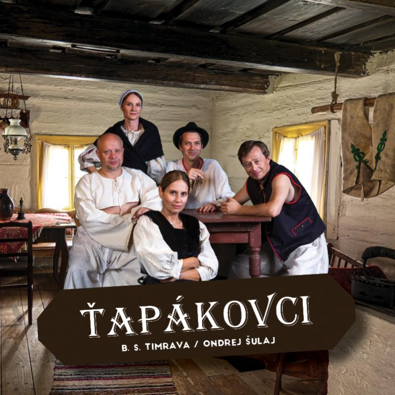 Divadelné predstavenie Ťapákovci v Topoľčanoch