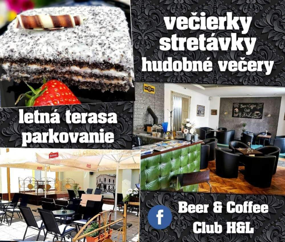 kaviareň Beer & Coffee club Topoľčany