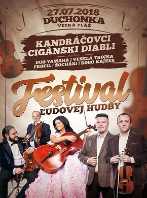 Festival ľudovej hudby 2018