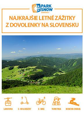 ZAŽITE DONOVALY Miesto plné možností a zábavy v srdci Slovenska.