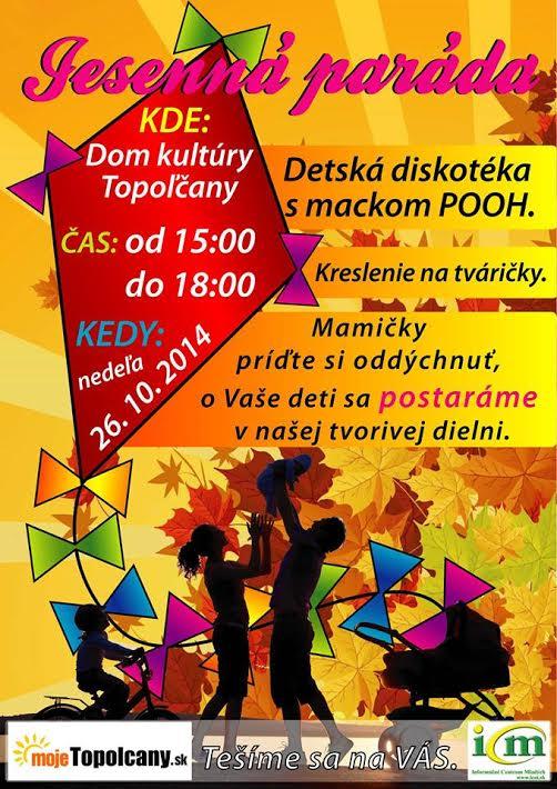 Jesenná paráda v Topoľčanoch - Kam v meste  6ad52808d77