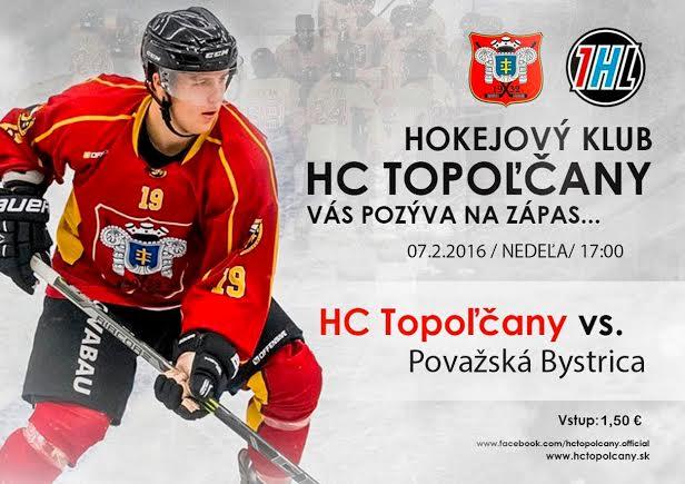 HC Topoľčany vs. Považská Bystrica - Kam v meste  20c0edf2f16