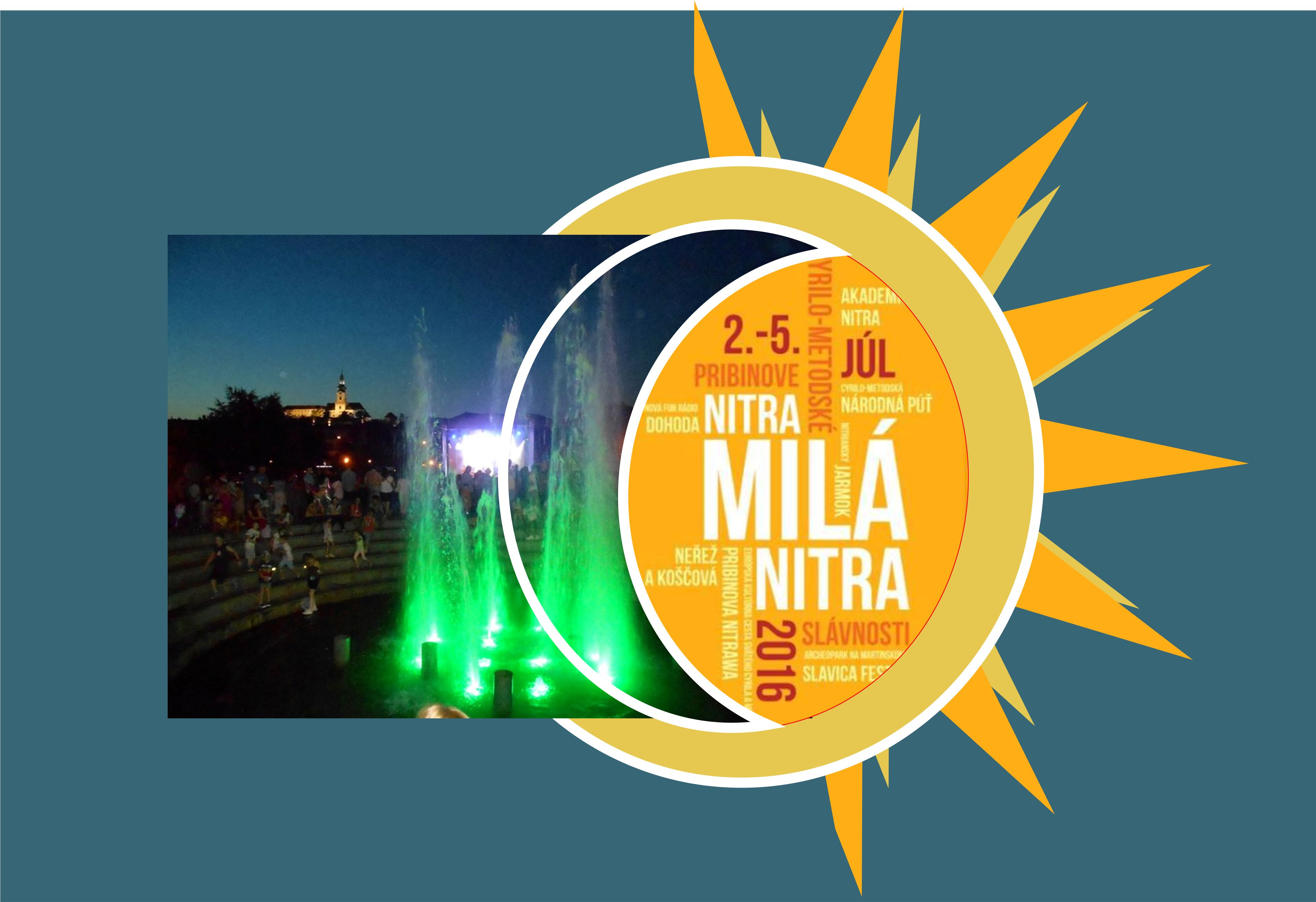 26b5eb22918ca Nitra, milá Nitra 2016 - zoznam podujat - Kam v meste | moje Topolcany