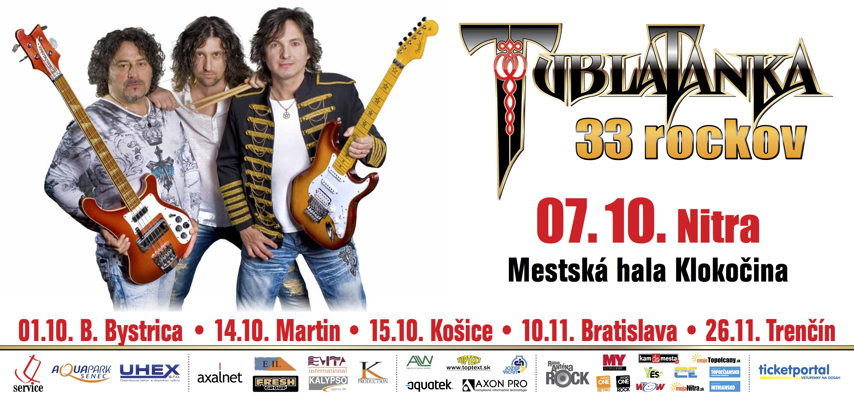 TUBLATANKA 33 rockov - oslavovať sa bud - Kam v meste  4aa72e1b9ea