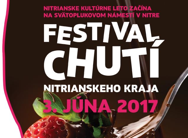 c608309eb Festival chutí Nitrianskeho kraja 2017 - Kam v meste | moje Topolcany