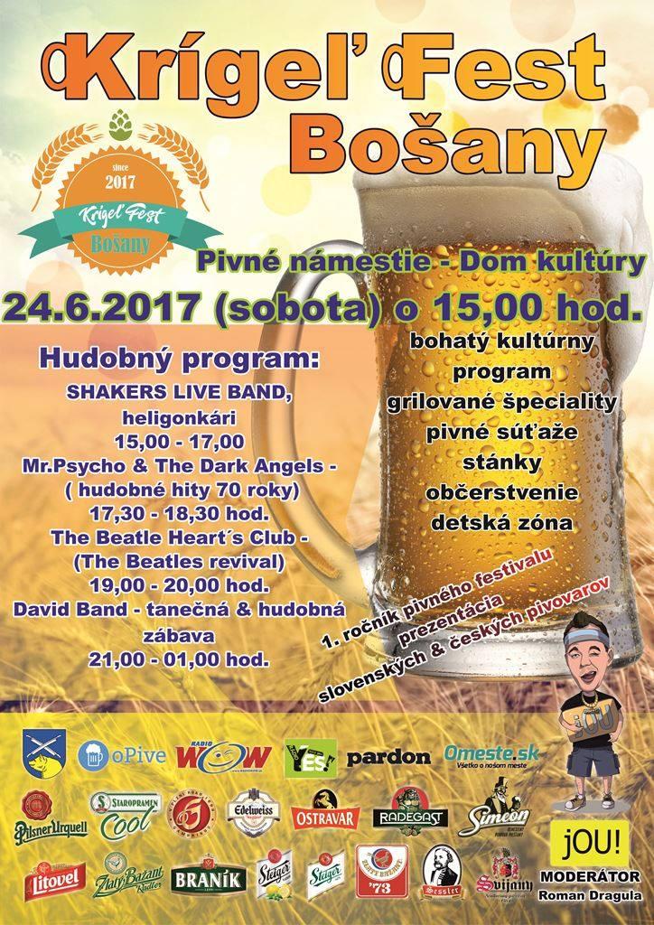 KRÍGEĽ FEST BOŠANY 24.6.2017 - Katalóg firiem  5b11ca0571e