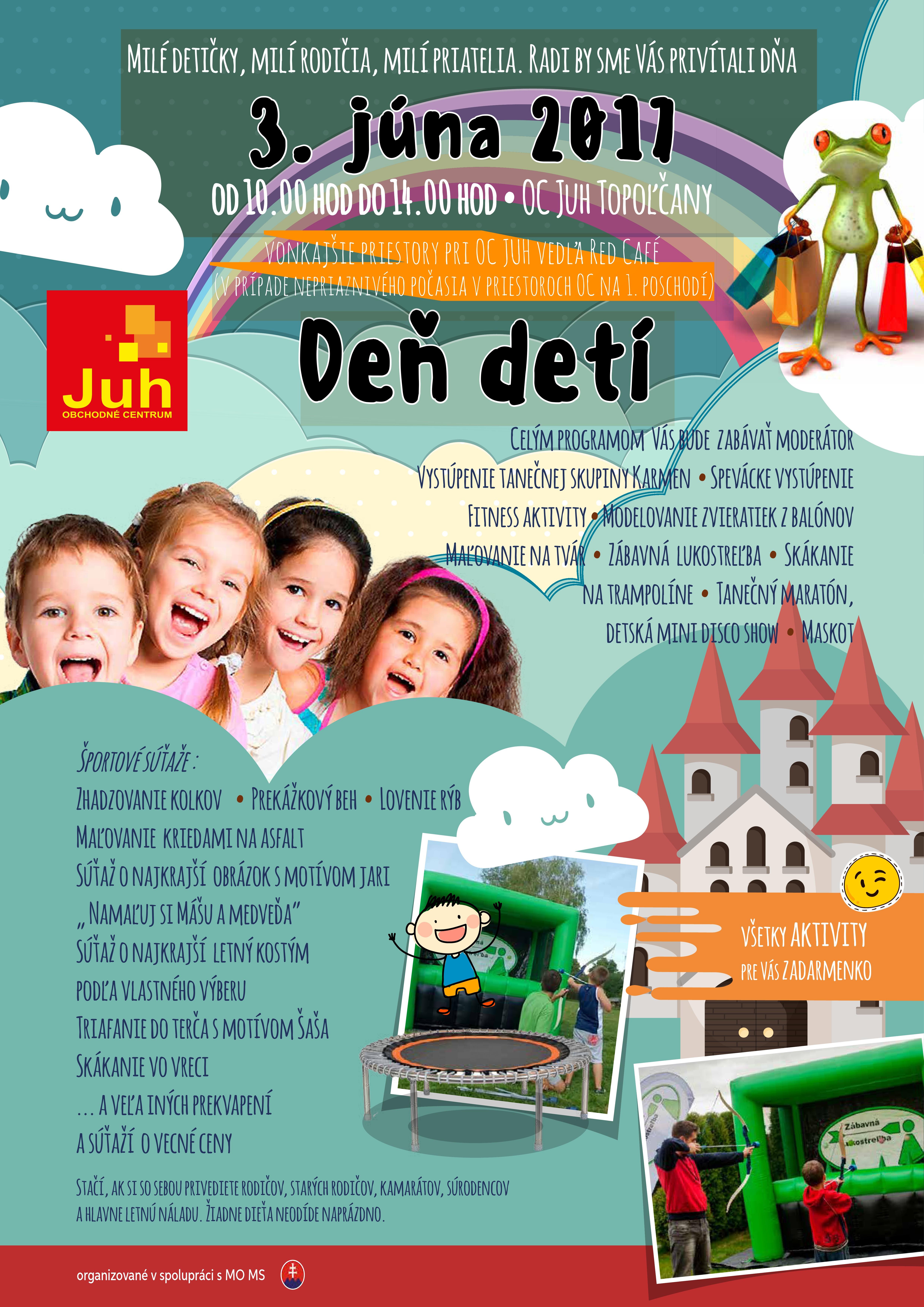 b539871b40a2 Deň detí v OC JUH - Katalóg firiem