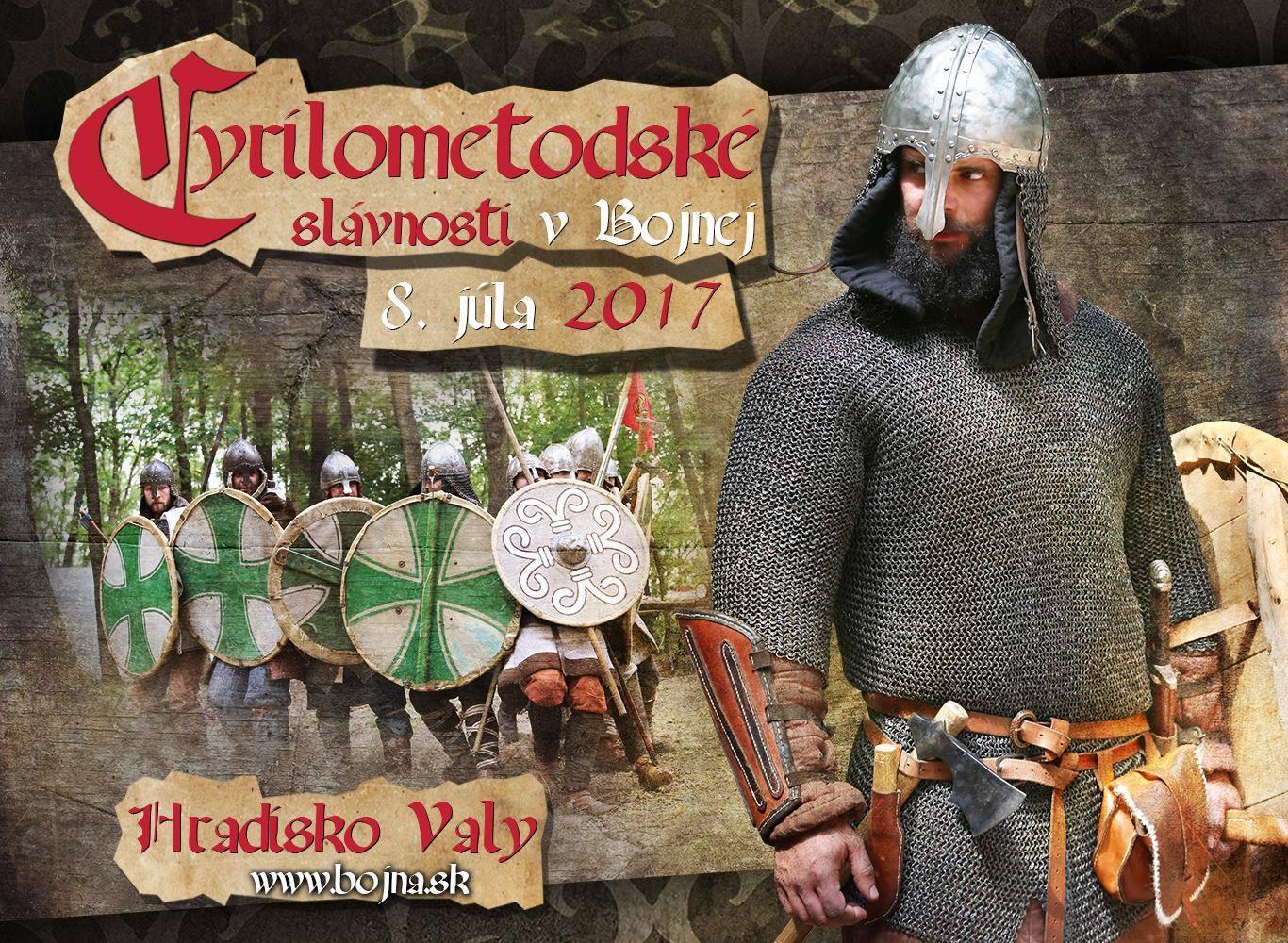 Cyrilometodské slávnosti v Bojnej - Kam v meste  22f8ef5b4d6