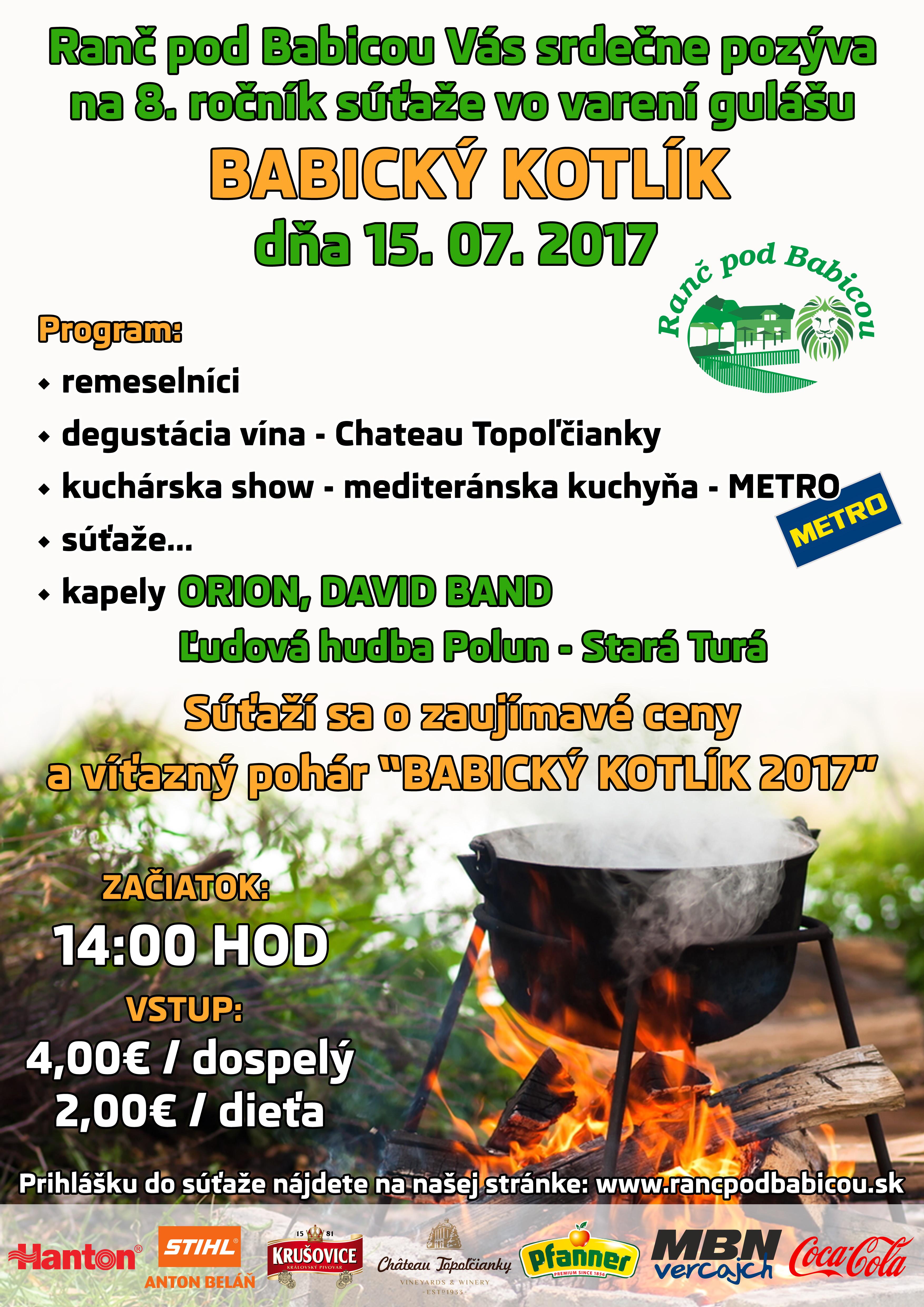 45c9d11951eb 8.ročník súťaže vo varení gulášu - BABI - Kam v meste