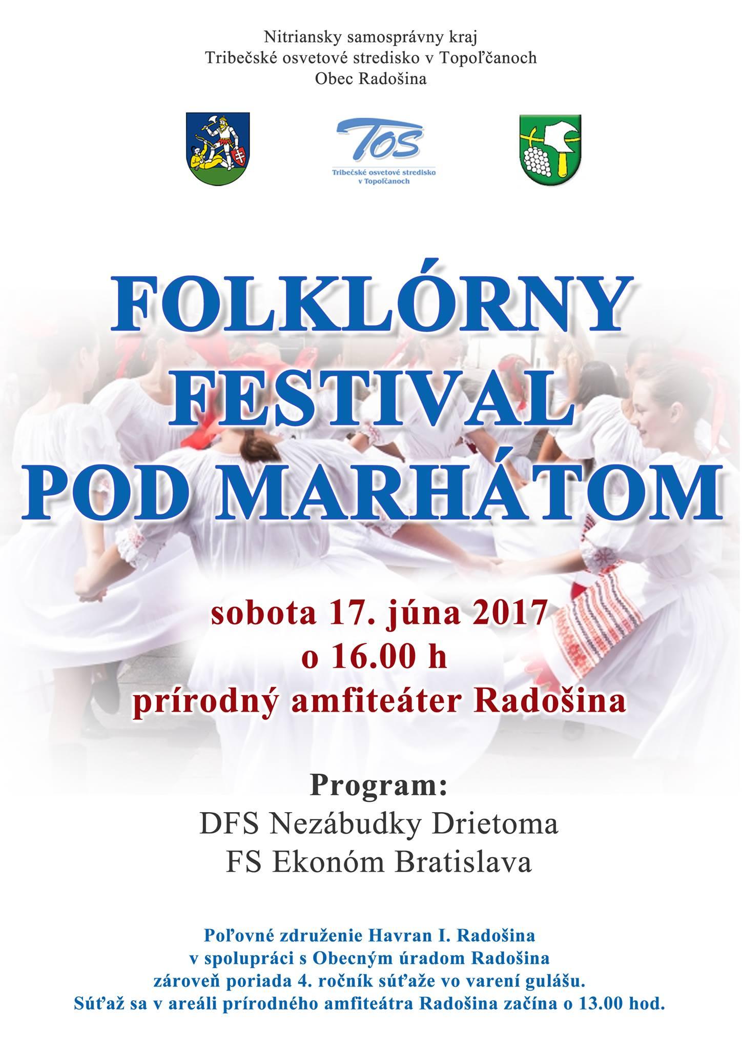 f4f563caf Folklórny festival Pod Marhátom - Kam v meste | moje Topolcany