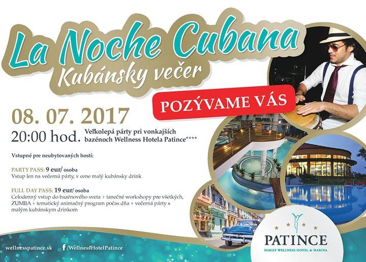 La NOCHE Cubana - Kubánska noc vo Welln - Kam v meste  36962a95823
