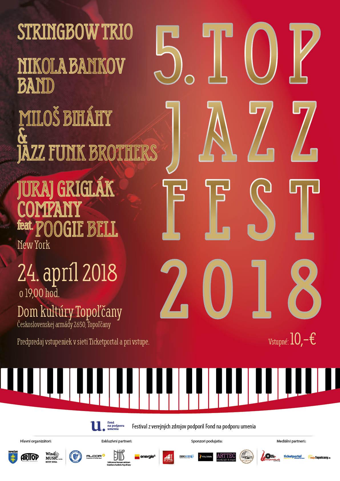 4fbfa39e0c Top Jazz Fest 2015 - Šport a relax