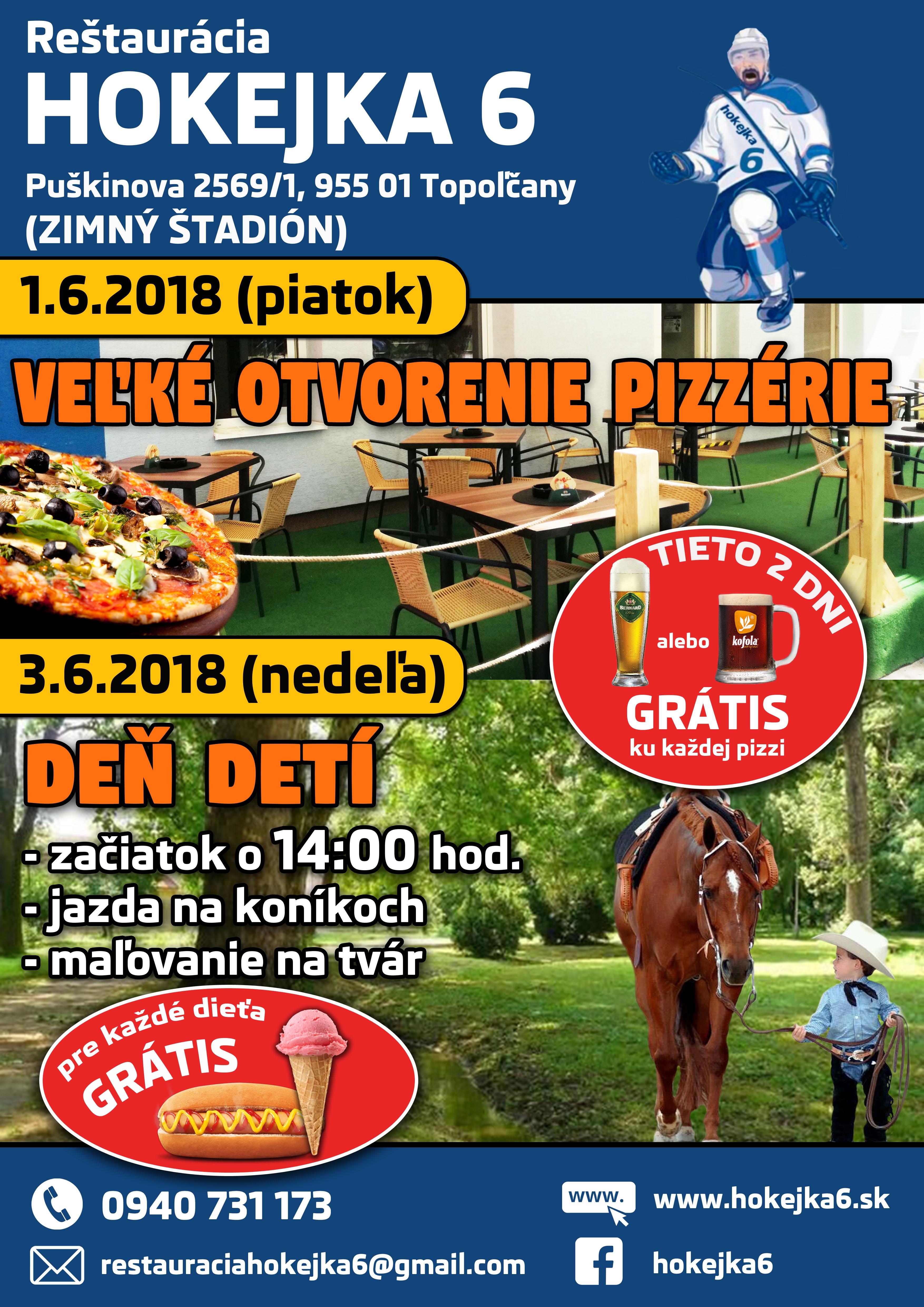 Veľké otvorenie pizzérie - Katalóg firiem  e9c852d7a84