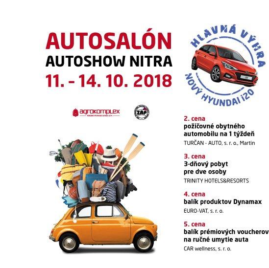 3599aa394 AUTOSALÓN AUTOSHOW NITRA 2018 - Kam v meste | moje Topolcany