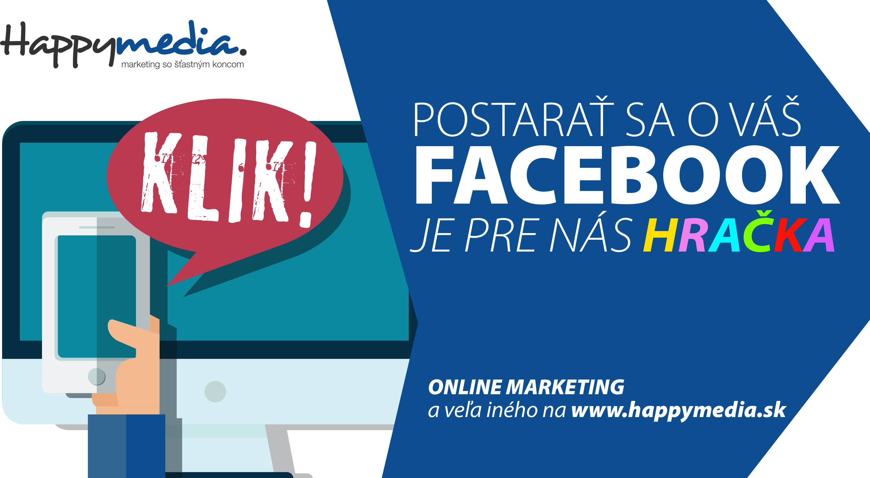 a61e1ed04cd0 Happymedia - marketing s happyendom - Služby a rôzne
