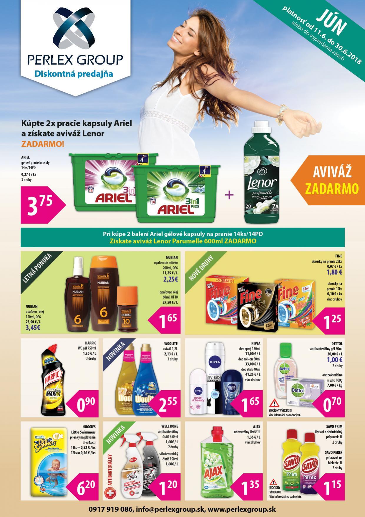 PERLEX GROUP – drogéria a kozmetika za - Móda 432d2aa537a