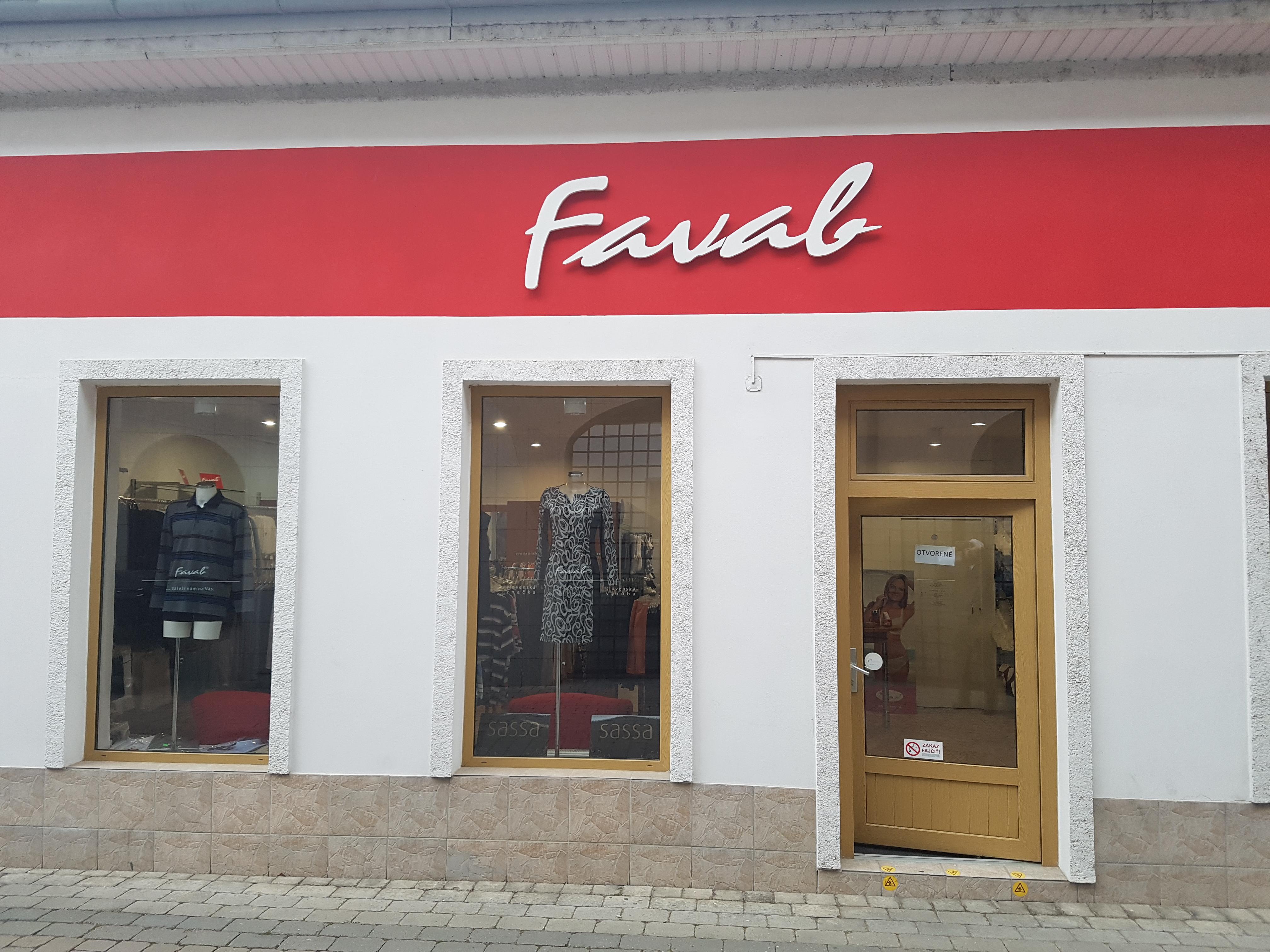 Fotogaléria-Značkové oblečenie Favab Topoľčany  fb4aca5442b
